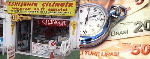 Eskişehir Çilingir Fiyatları